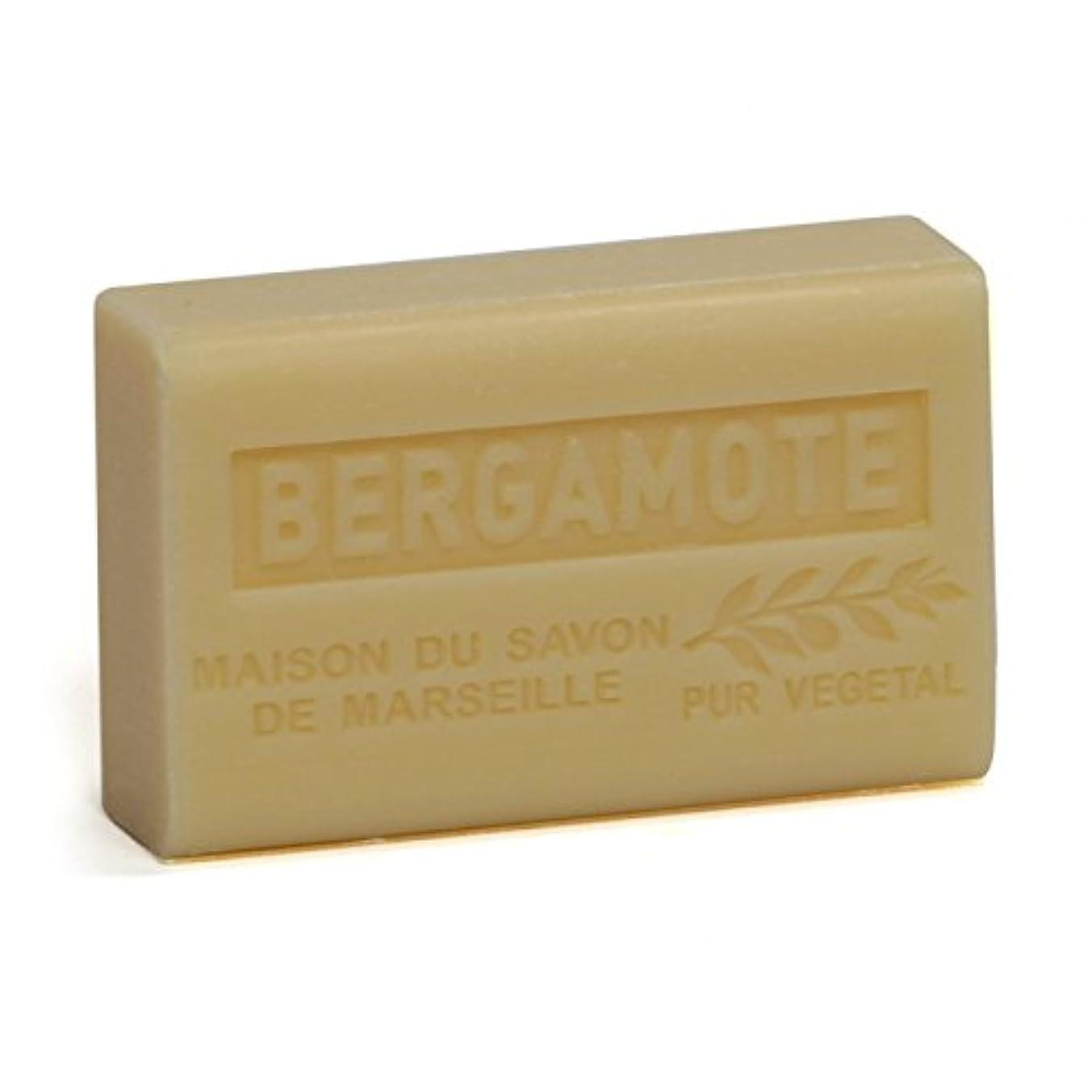 甘くするコントラストゆりSavon de Marseille Soap Bergamot Shea Butter 125g