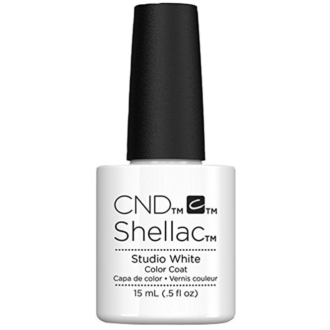 納屋送った計画的CND Shellac - Limited Edition! - Studio White - 15ml/0.5oz