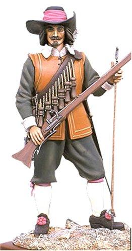 アンドレアミニチュアズ S8-F4 Musketeer (1643)