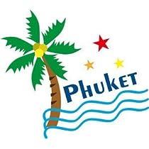トラベルステッカー プーケット PHUKET 旅行シール~スーツケース・タブレットPCに