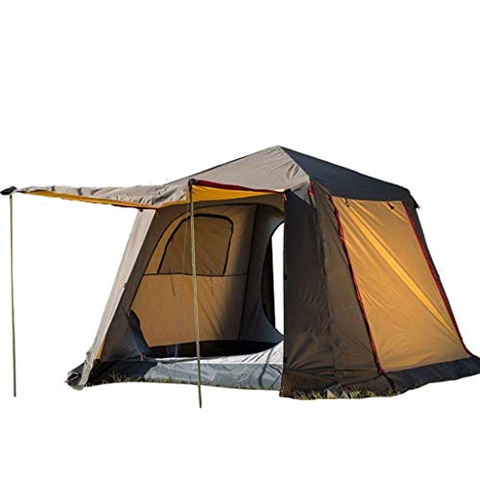男らしい除外する目の前のJOLLY 2ベッドルームキャンプテント屋外自動2ベッドルーム二層厚オールインクルーシブアンチストーム