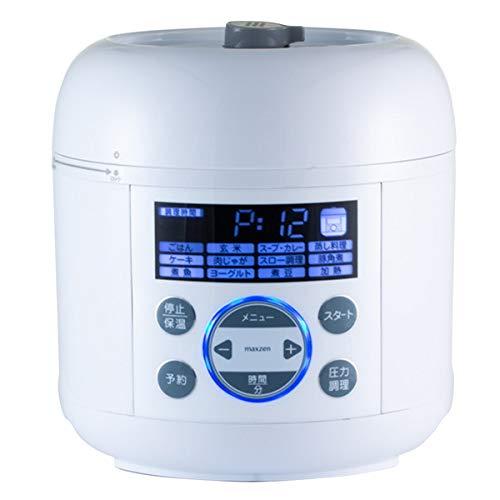 maxzen PCE-MX301-WH ホワイト [電気圧力鍋] その他調理家電