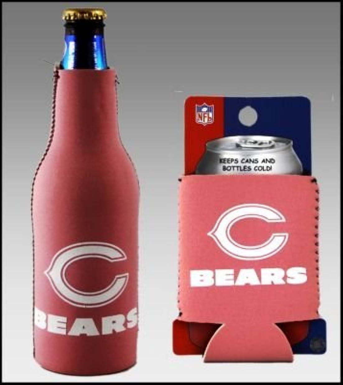 相互過半数ラフ睡眠セットの2 Chicago BearsピンクレディースクージーCoozie