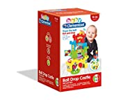 Clementoni 17226 Baby Roll and Drop Fun Castle, Multi-Coloured