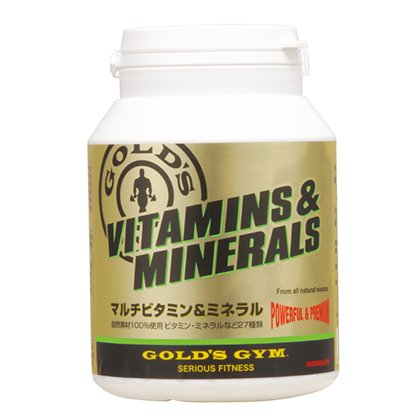 【GOLD`S GYM  (ゴールドジム)】 マルチビタミン...