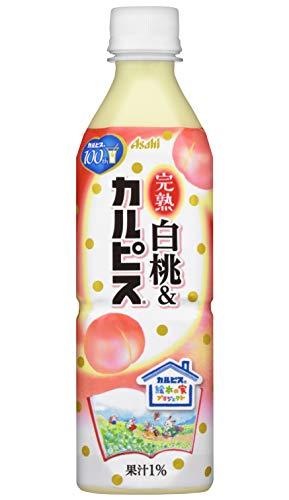 RoomClip商品情報 - アサヒ飲料 完熟白桃&カルピス 500ml×24本