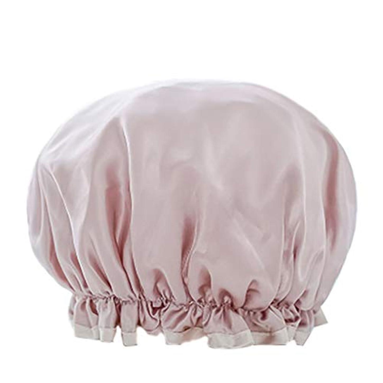ナット困惑かみそりMaltose 防水シャワーキャップ マイクロファイバー素材 化粧帽 油煙を防ぐ 浴びる 2枚セット