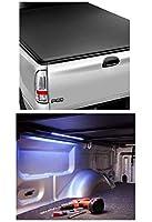 Access 31409 & TruXedo 1705419 LiteRider トノカバー & 36インチライトストリップバンドル 17-18 フォード F-250/F-350/F-450 8フィートベッド用