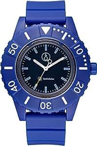 [キューアンドキュー スマイルソーラー]Q&Q SmileSolar 腕時計 ソーラー アナログ 20気圧防水 直径45mm ブルー RP30-003 メンズ