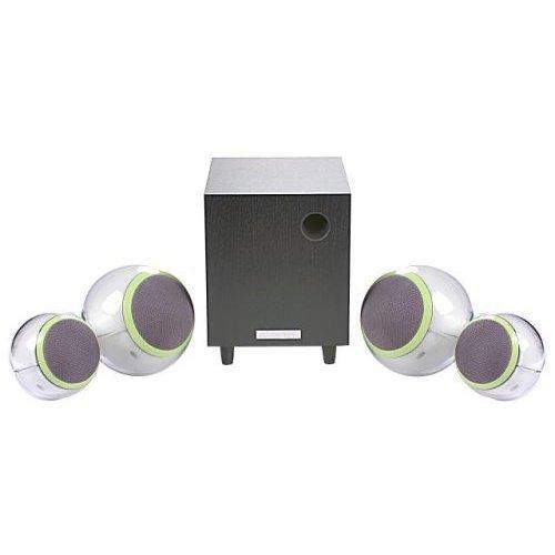 HANNspree Bubble 2.1 Channel Speaker System (KS07-21u1-000) [並行輸入品]