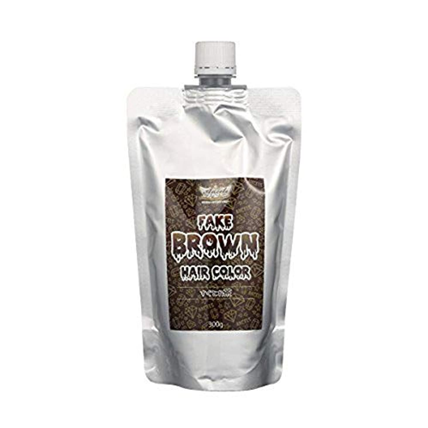 くしゃくしゃレトルト保持passion エンシェールズ すぐとれシリーズ すぐとれ黒 すぐとれ茶 FAKE フェイクブラック フェイクブラウン カラーバター カラートリートメント 300g すぐとれ茶