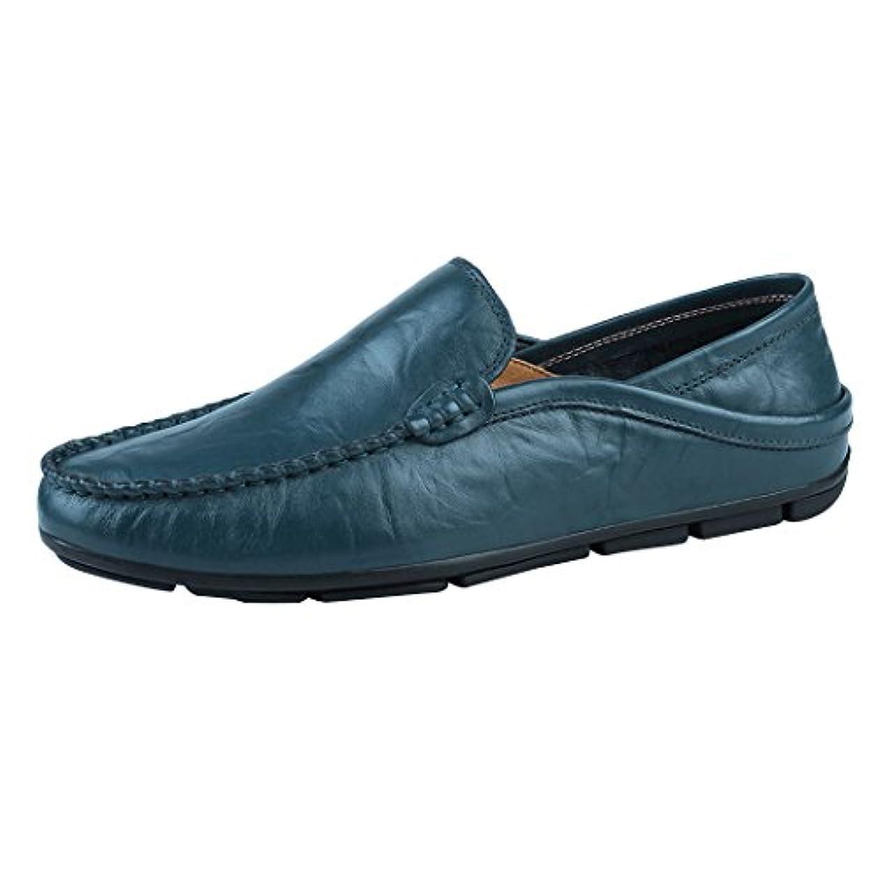 フローティングベスト船上BANKIKU (バンキク) メンズ スリッポン 男性用 ドライビングシューズ かかとが踏める ファッション 柔らかい 通気性良い 透かし彫り 歩きやすい 男の子 ローファー 紳士靴 ビジネス 23-29cm