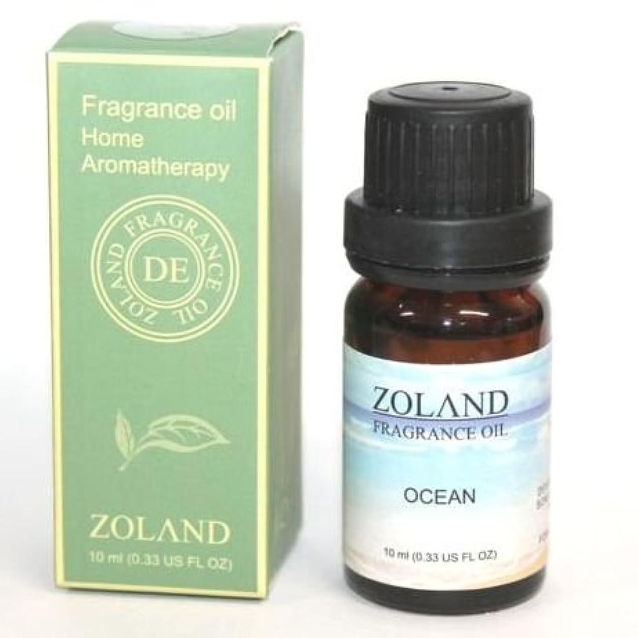 照らすバスルーム言うまでもなくZOLAND アロマオイル AROMA OIL フレグランスオイル OCEAN オーシャン 海の香り ZQ-6