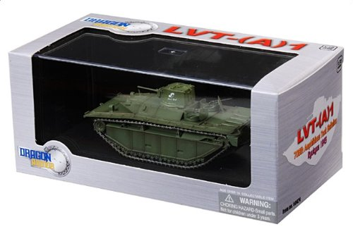1:72 ドラゴンモデルズ アーマー コレクター シリーズ 60424 FMC Corporation LVT(A)-1 Alligator ディスプレイ モデル US アーミー 708th Amph