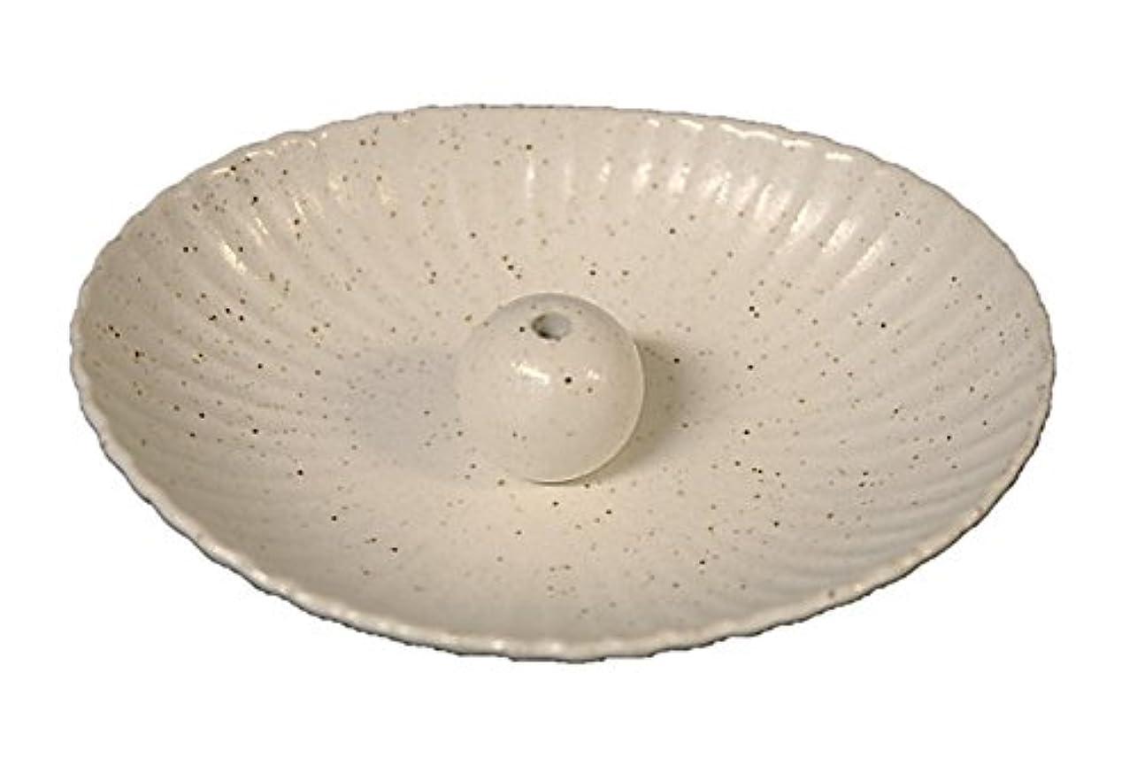 ウール入口征服する粉引 楕円皿 日本製 製造?直売 お香立て お香たて 陶器 少し深めな香皿