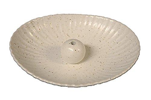 粉引 楕円皿 日本製 製造・直売 お香立て お香たて 陶器 ...