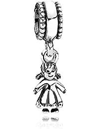 PANDORA Charms Sterling Silver Original My Little Girl Dangle Charm