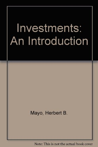 Download Investments: An Introduction 0324561385