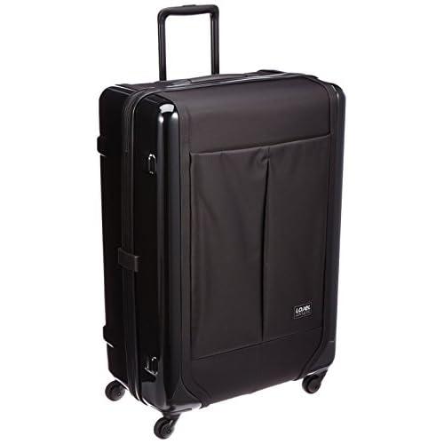 [ロジェール] Lojel スーツケース EXOSII 99L 4.8kg 10年保証 ヒノモトキャスター LEXZ-L ブラック (ブラック)