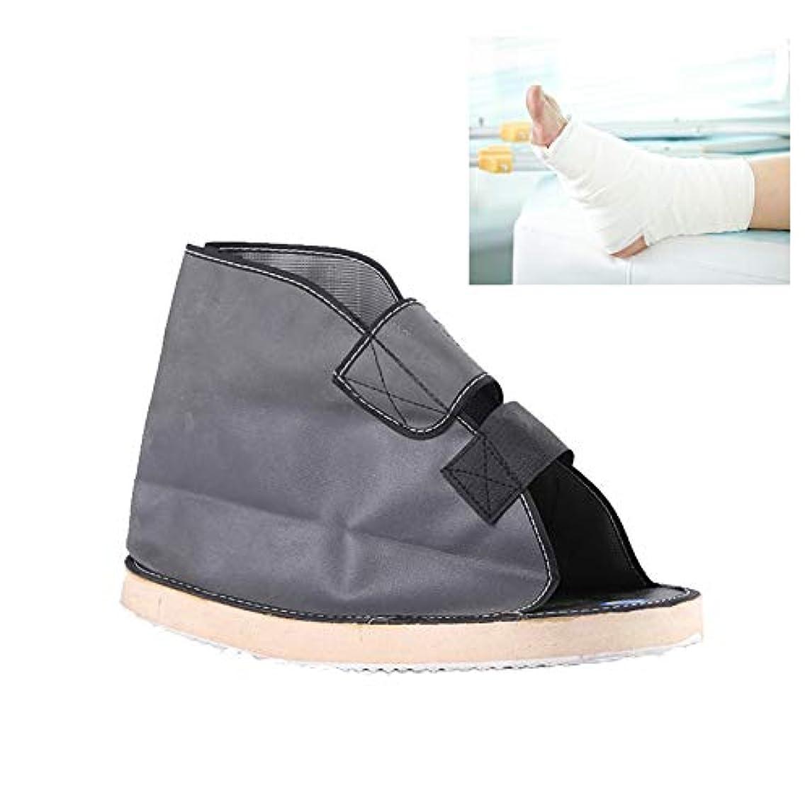 緊急着陸呼び出すキャスト医療靴術後医療ウォーキングブーツポスト傷害外科的骨折足ウォーキングシューズヒーリングリハビリ石膏靴,L1pc
