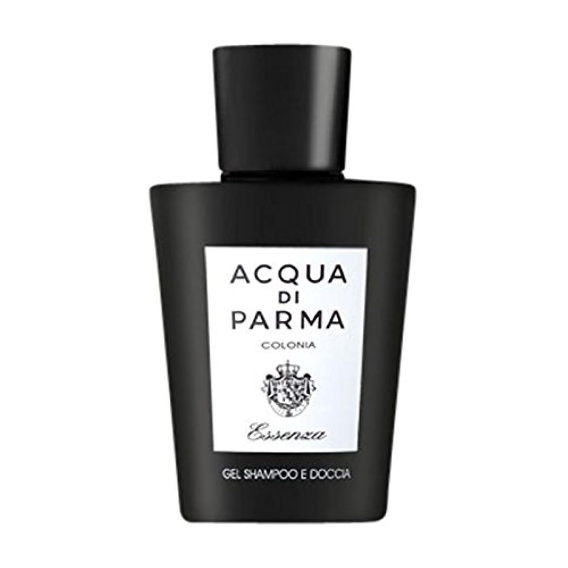 写真を描く虚弱そのようなアクアディパルマコロニアEssenza髪とシャワージェル200ミリリットル (Acqua di Parma) (x6) - Acqua di Parma Colonia Essenza Hair and Shower Gel...