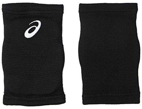 アシックス バレーボールサポーター ひざサポーター 2個入 XWP080 ボーイズ ブラック/ホワイト 日本 OS Free サイズ