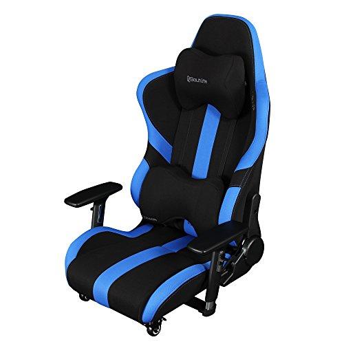 Bauhutte (バウヒュッテ) ゲーミングチェア プロシリーズ ゲーミング座椅子 リクライニング 4D稼働アームレスト採用 LOC-950RR-BU