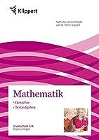Gewichte - Textaufgaben: Grundschule 3-4. Kopiervorlagen (3. und 4. Klasse)
