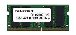 プリンストン DOS/V ノートPC用メモリ 16GB PC4-19200(DDR4-2400) CL=17 260PIN SO-DIMM PDN4/2400-16G