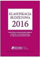 Klasyfikacja budzetowa 2016
