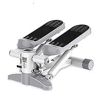 美しい脚ステッパー、ミュートユニバーサルクライミングペダルフィットネス機器、スマート減量多機能薄型ウエストペダルマシン
