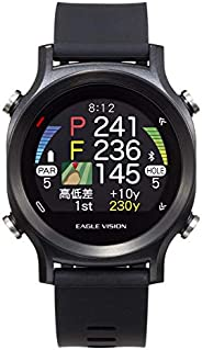 アサヒゴルフ EAGLE VISION watch ACE EV-933 BK EV-933