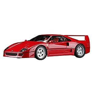 Hobby JAPAN 1/18 フェラーリ F40 (レッド) + フェラーリテスタロッサ (レッド SF ロゴ入り) 2台セット 完成品