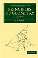 Principles of Geometry Volume 3 (Cambridge Library Collection - Mathematics)