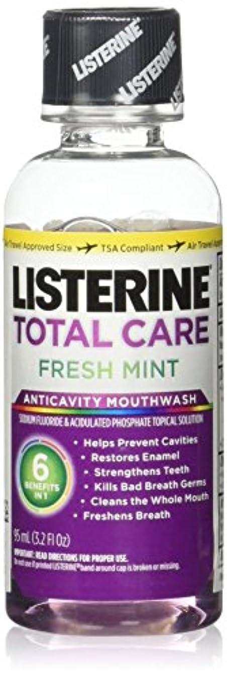 窓を洗う蒸気あまりにもListrn Tot Frsh Mnt Size 3.2z Listerine Total Care Fresh Mint Mouthwash by Listerine