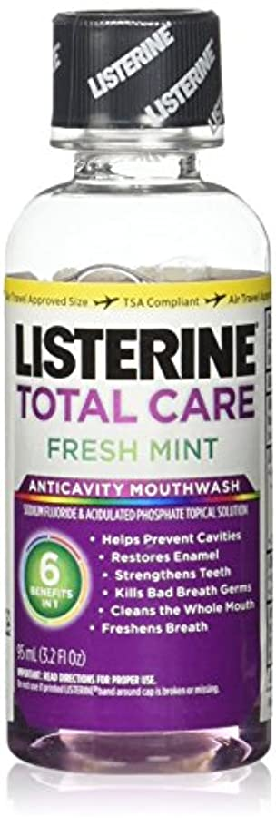 以内にガスレルムListrn Tot Frsh Mnt Size 3.2z Listerine Total Care Fresh Mint Mouthwash by Listerine