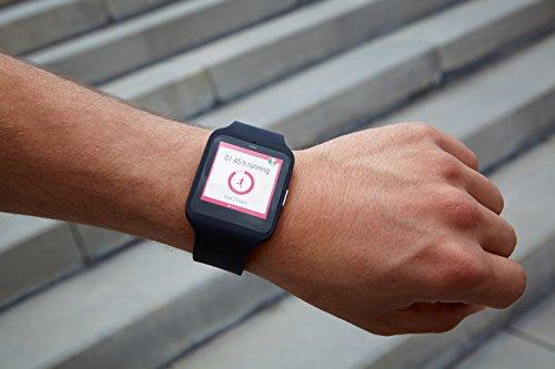 ソニー(SONY) SmartWatch (スマートウォッチ) 3 Bluetooth4.0 リストバンド型活動量計 SWR50-B 【並行輸入品】 ソニー