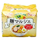 【30%減塩】無塩製麺 イトメン 麺マルシェ みそ味ラーメン 5食入