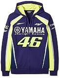 ヤマハ(YAMAHA) ジップパーカー VR46 ヴァレンティーノ ロッシ 46&ヤマハファクトリーレーシングロゴ ブルー Sサイズ(欧州) Q5D-YSK-475-00W