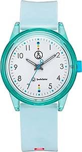 [キューアンドキュー スマイルソーラー]Q&Q SmileSolar 腕時計 ソーラー アナログ マッチングスタイル 10気圧防水 直径36mm グリーン RP26-008 メンズ