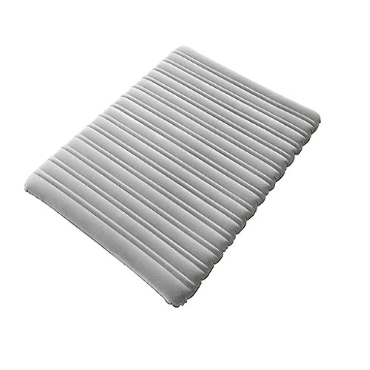 排気セレナモンキー単層インフレータブルベッド厚いエアクッションダブルインフレータブルマットレスエアベッドのアウトドアキャンプを増やす家庭Thickenポータブル車のエアベッドインフレータブルベッド (色 : Bed+hand pump)
