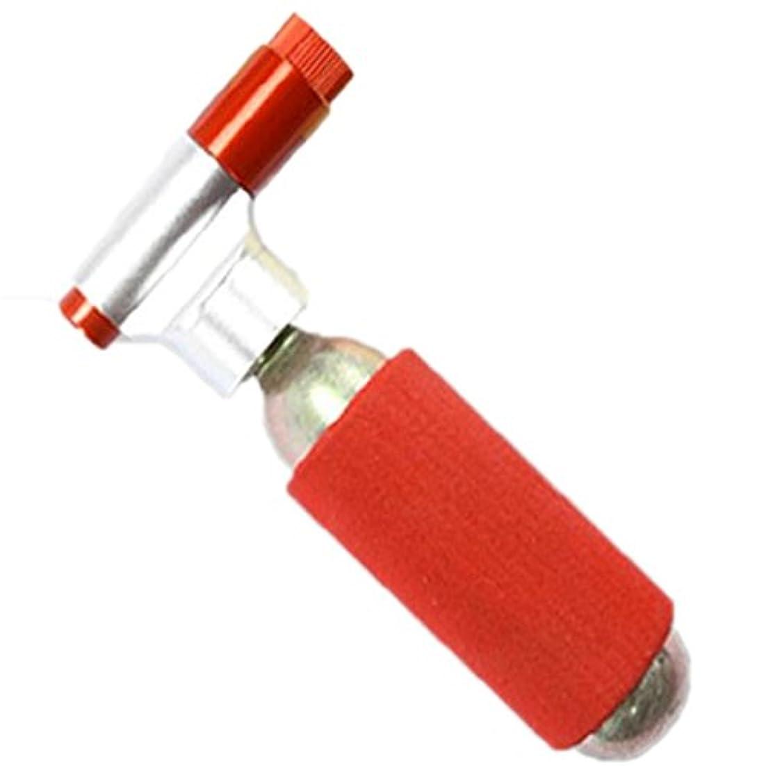 グリットラケットミニCO2 インフレーター ボンベセット エアバルブ 米式 仏式兼用 CO2ボンベ JG-1025 1個 (ボンベなし)