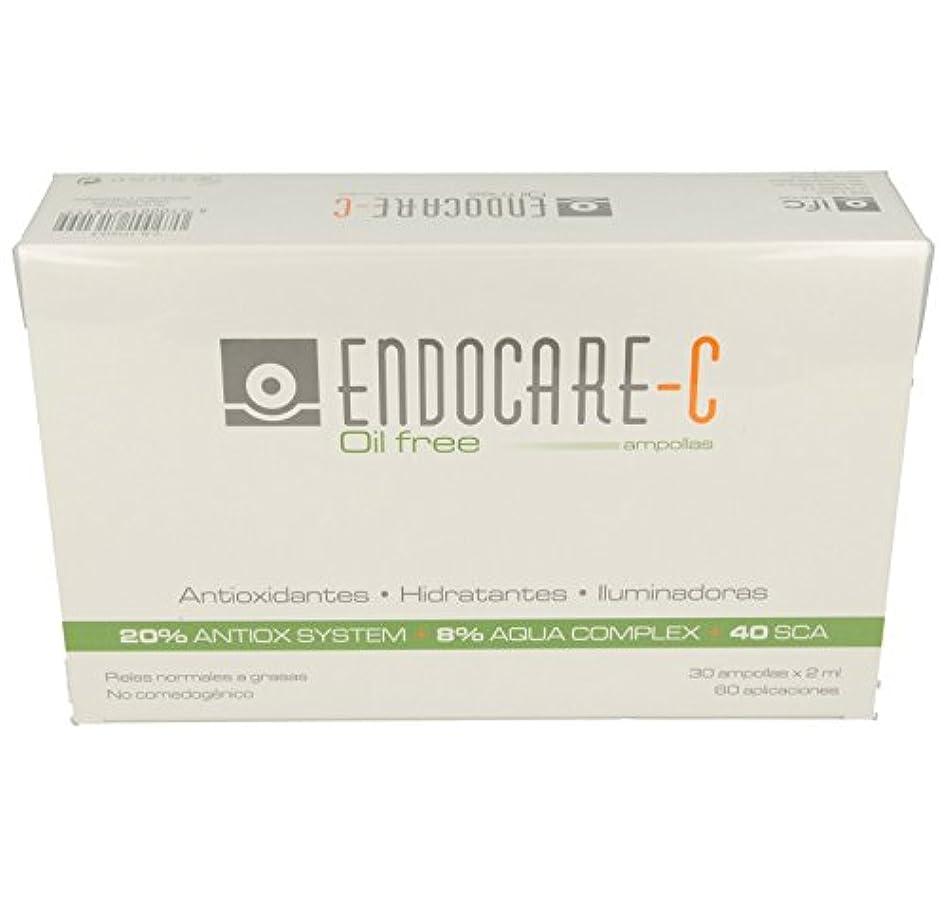 グローブジョリー吸収剤ENDOCARE-C Oil Free Ampollas 30x2Ml