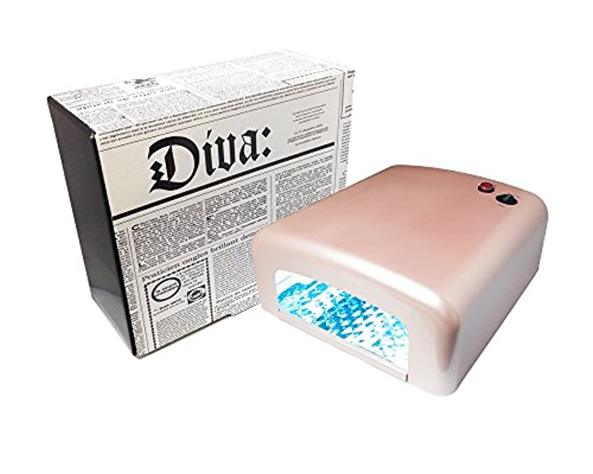 荒らすたるみ驚きDiva(ディーヴァ) UVライト36W UVレジン用 本体 パールピンク