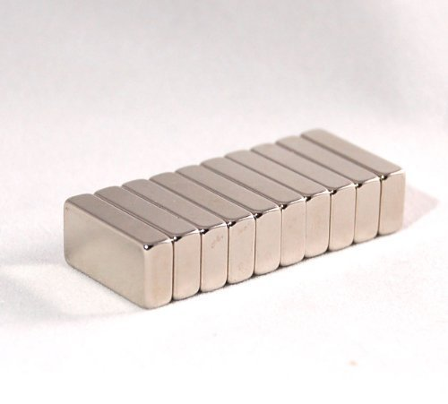 耐熱200度!世界最強磁石/20mm×10mm角型5mm厚ネ...