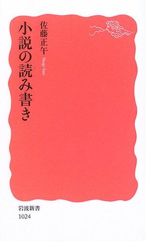 小説の読み書き (岩波新書)の詳細を見る