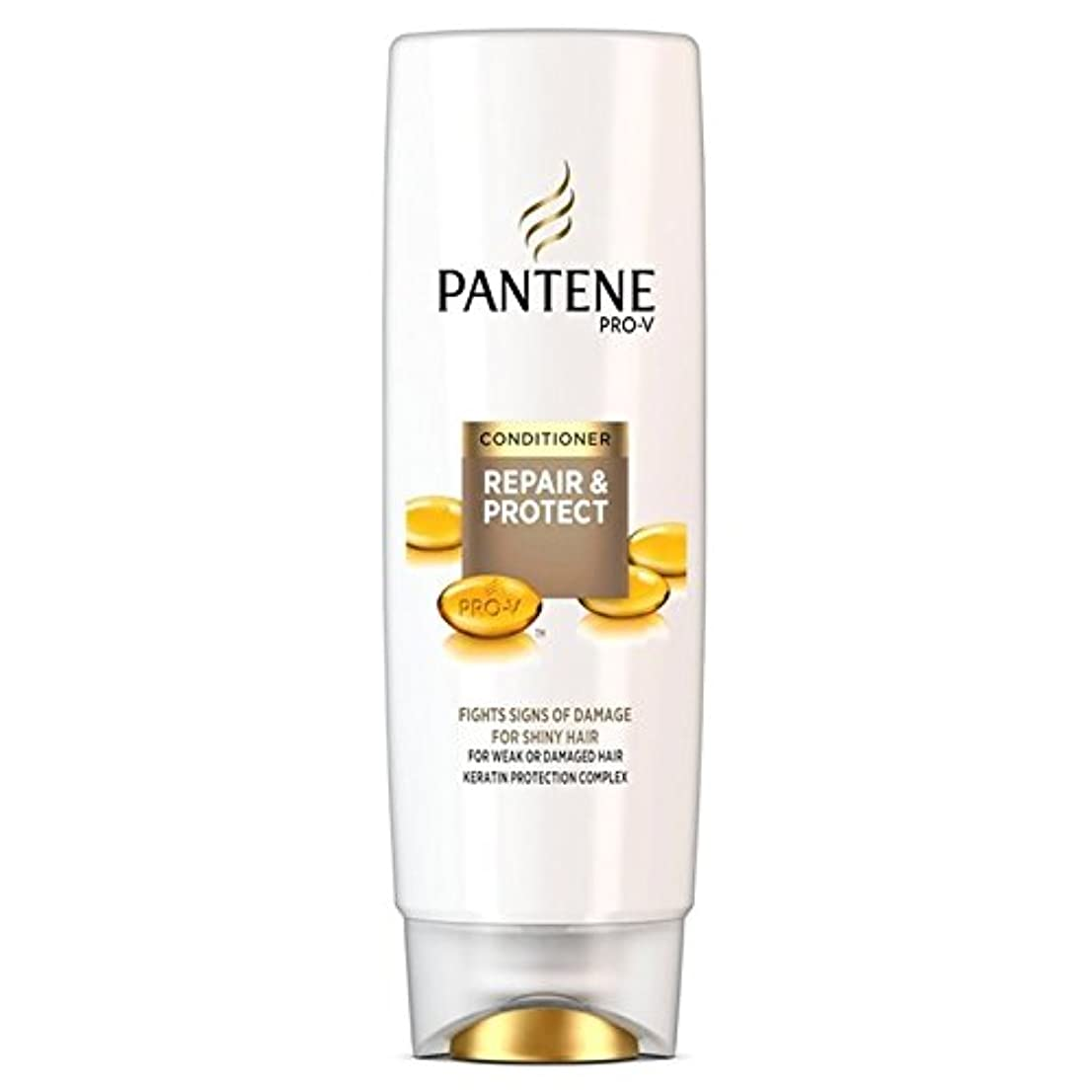 空港保守可能キリンパンテーンコンディショナーの修理&弱いか、傷んだ髪の250ミリリットルのための保護 x4 - Pantene Conditioner Repair & Protect For Weak Or Damaged Hair 250ml...