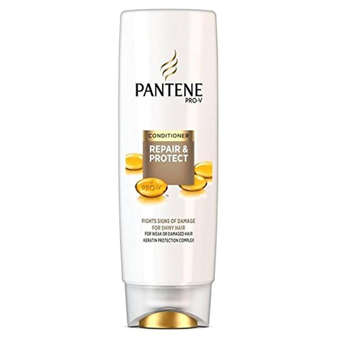 トラフィックマイルド浸透するパンテーンコンディショナーの修理&弱いか、傷んだ髪の250ミリリットルのための保護 x4 - Pantene Conditioner Repair & Protect For Weak Or Damaged Hair 250ml...