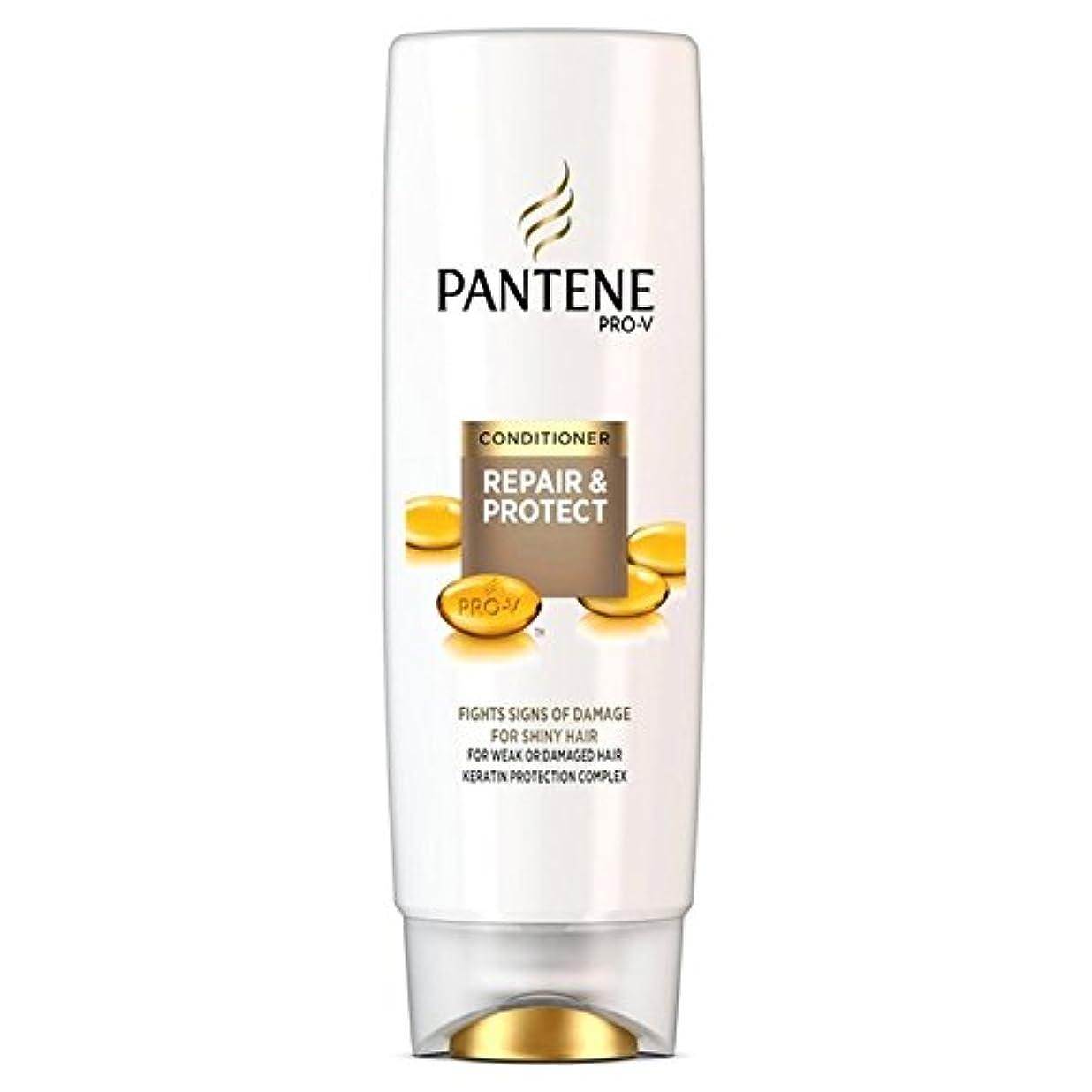 お願いします魅力動的パンテーンコンディショナーの修理&弱いか、傷んだ髪の250ミリリットルのための保護 x4 - Pantene Conditioner Repair & Protect For Weak Or Damaged Hair 250ml...
