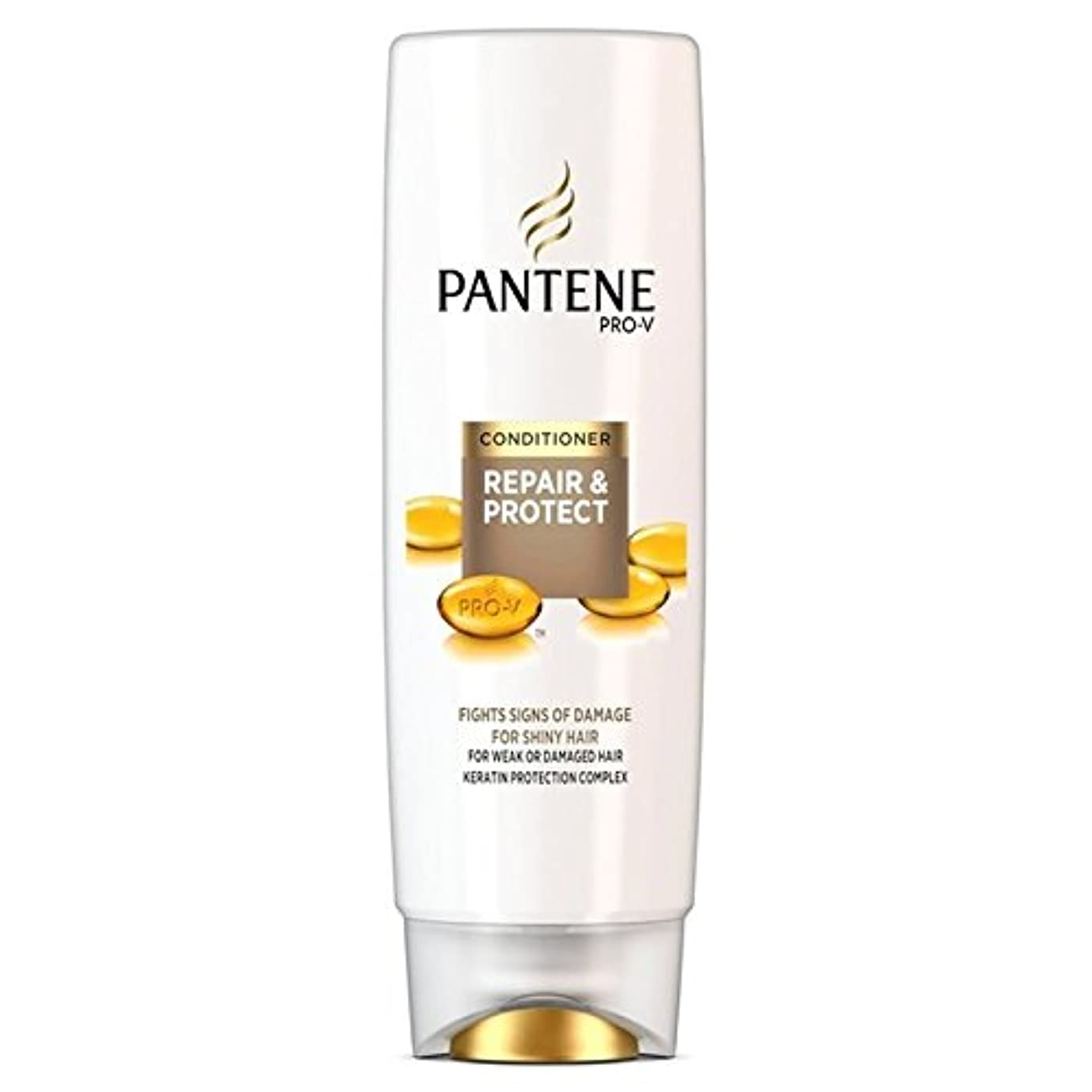 ウッズ衝動ソフトウェアパンテーンコンディショナーの修理&弱いか、傷んだ髪の250ミリリットルのための保護 x4 - Pantene Conditioner Repair & Protect For Weak Or Damaged Hair 250ml...
